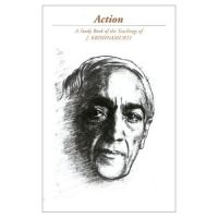 Cover for 'J Krishnamurti-Action'
