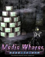 Cover for 'Media Whores'
