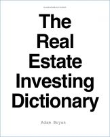 Cover for 'The Real Estate Investing Dictionary'