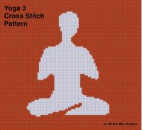 Cover for 'Yoga 3 Cross Stitch Pattern'
