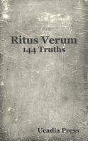 Cover for 'Ritus Verum - The 144 Truths'