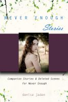 Cover for 'Never Enough Stories'