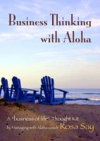 Cover for 'Business Thinking with Aloha'