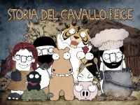 Cover for 'Storia del Cavallo Beige'
