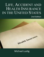 Cover for 'Life, Accident and Health Insurance in the United States'