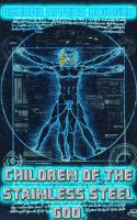 Cover for 'Children of the Stainless Steel God'