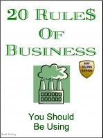 Cover for '20 Rules Of Business (You Should Be Using)'