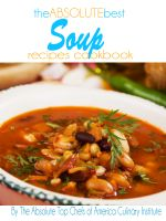 Cover for 'The Absolute Best Soup Recipes Cookbook'