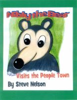 Cover for 'Nibly the Bear Visits the People Town'