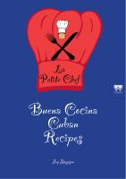 Cover for 'Buena Cocina Cuban Recipes - La Petite Chef'