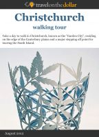 Cover for 'Chrishchurch Walking Tour'