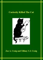 Cover for 'Curiosity Killed the Cat'