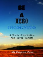 Cover for 'Be A Hero Incognito'