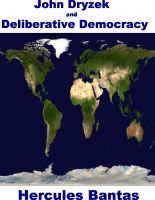 Cover for 'John Dryzek and Deliberative Democracy'