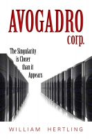 Cover for 'Avogadro Corp: The Singularity is Closer than It Appears'
