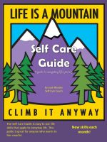 Cover for 'Self Care Guide - A guide to navigating life's journey'