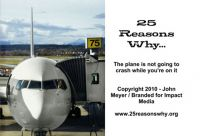 Cover for '25 Reasons Why The Plane is Not Going to Crash While You're On it'