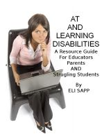 Cover for 'Assistive Technology and Learning Disabilities'