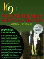 Cover for '169+ Mountain Man Survival Tricks!'