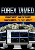 Cover for 'Forex Tamed'