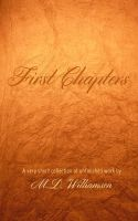 Cover for 'First Chapters'
