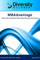 Cover for 'MBAdvantage: Diversity Outreach Benchmarking Report'