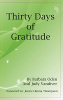 Cover for 'Thirty Days of Gratitude'