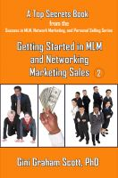 Cover for 'Top Secrets for Getting Started in MLM and Networking Marketing Sales'