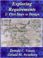 Cover for 'Exploring Requirements 2: First Steps into Design'