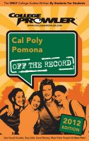 Cover for 'Cal Poly Pomona 2012'