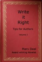Cover for 'Write it Right - Tips for Authors, Volume I, 2nd Edition'