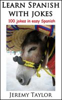 Cover for 'Learn Spanish with Jokes'
