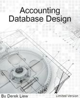 Cover for 'Accounting Database Design (Limited Version)'