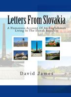 Cover for 'Letters From Slovakia'