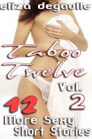 Cover for 'Taboo Twelve Volume Two (Taboo Pseudo-Incest Erotica Mega-Bundle)'