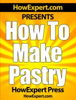 How To Make Pastry cover