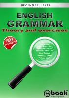 Cover for 'English Grammar - Theory and Exercises'