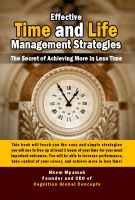 Cover for 'Effective Time and Life Management Strategies'