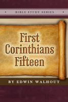 Cover for 'First Corinthians Fifteen'
