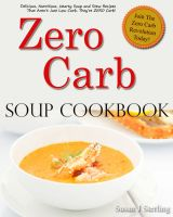 Cover for 'Zero Carb Soup Cookbook'