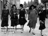 Cover for '1920's Womens Fashion  (Women of the 1920's)'