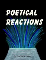Cover for 'Poetical Reactions'