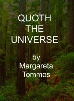 Cover for 'Quoth the Universe'