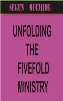 Cover for 'Unfolding the Fivefold Ministry'
