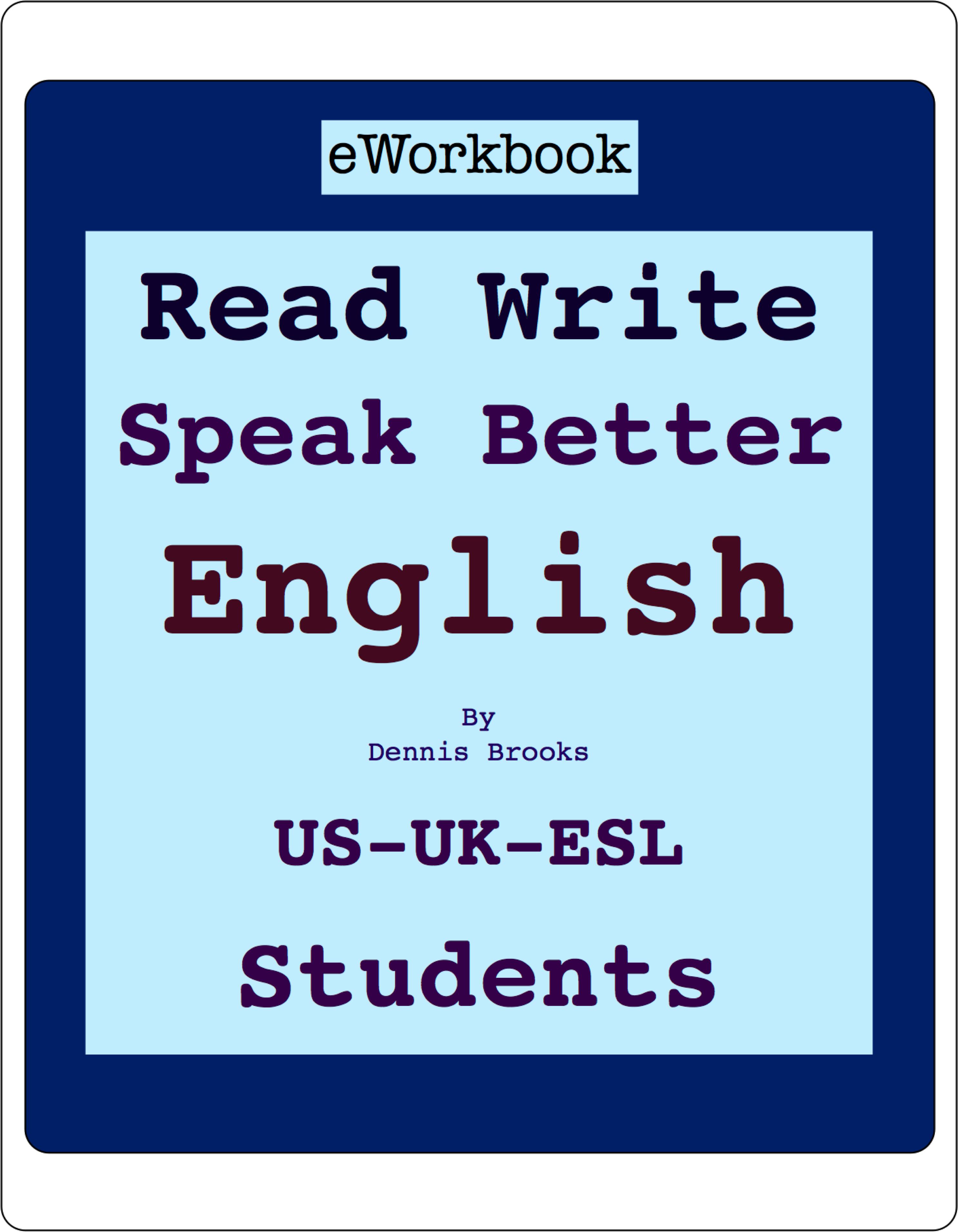 How to Write & Speak Good English