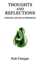 Cover for 'Thoughts and Reflections on Language, Literature, and Performance'
