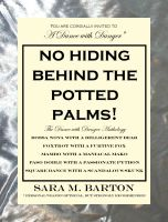 Cover for 'No Hiding Behind the Potted Palms! A Dance with Danger Mystery #7'