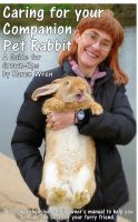 Cover for 'Caring for your Companion Pet Rabbit - a Guide for Grown-Ups'
