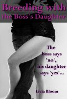 Cover for 'Breeding the Boss's Daughter (breeding erotic romance)'