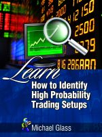 Cover for 'Learn How to Identify High Probability Trading Setups'